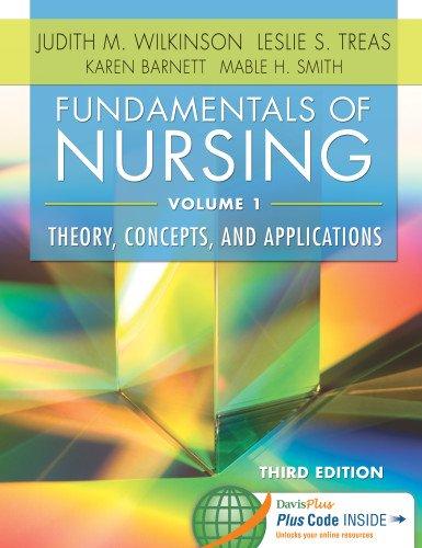 9780803640757: Fundamentals of Nursing, Volume 1