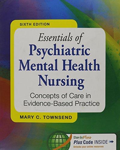 9780803642423 Essentials Of Psychiatric Mental Health Nursing 6th