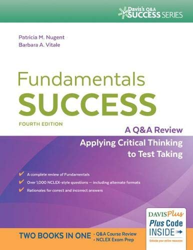 9780803644144: Fundamentals Success: A Q&A Review Applying Critical Thinking to Test Taking