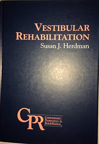 9780803646247: Vestibular Rehabilitation (Contemporary Perspectives in Rehabilitation)