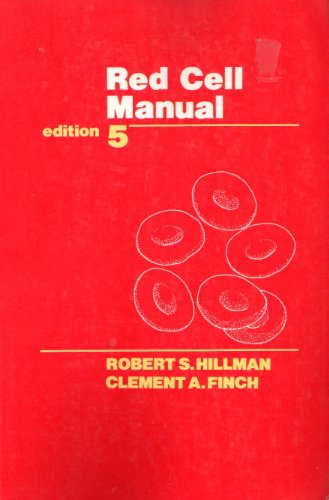 9780803646346: Red Cell Manual