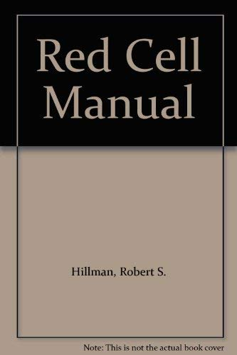 9780803646360: Red Cell Manual