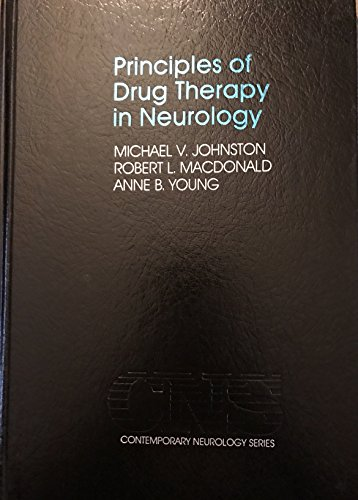 9780803650312: Principles of Drug Therapy in Neurology (Contemporary Neurology Series) (Vol 37)
