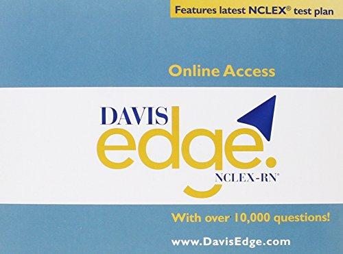 9780803655768: Davis Edge for NCLEX-RN (Access Card)