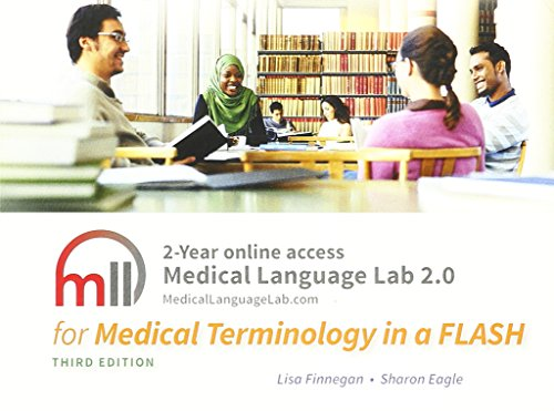 9780803657038: Medical Language Lab 2.0 for Medical Terminology in a Flash! 3E
