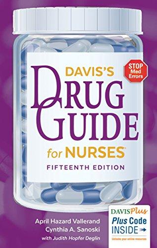 9780803657052: Davis's Drug Guide for Nurses