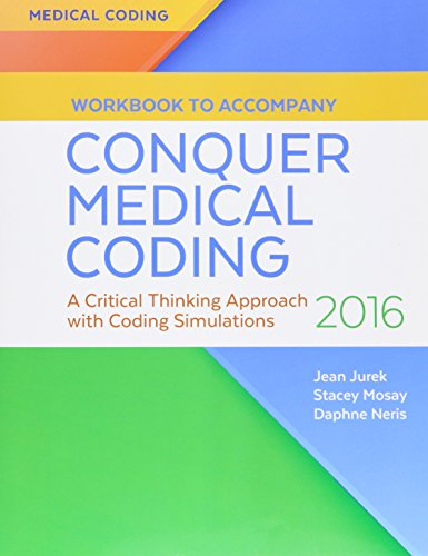 9780803657694: Pkg: Conquer Med Coding 2016 & Wkbk to Accompany Conquer Med Coding