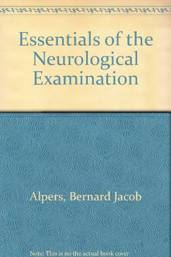 9780803658059: Alpers and Mancall's Essentials of the Neurologic Examination