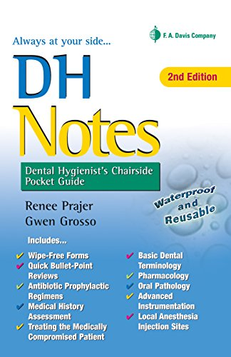 9780803658264: DH Notes: Dental Hygienist's Chairside Pocket Guide