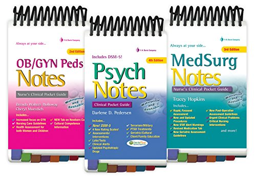 9780803658400: Clinical Notes Package: Psych Notes 4e & OB