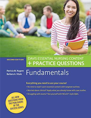 9780803660694: Fundamentals: Davis Essential Nursing Content + Practice Questions