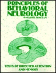 Principles of Behavioral Neurology -- Tests of: Editor-M.-Marsel Mesulam