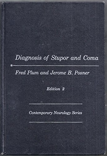 9780803669918: Diagnosis of Stupor and Coma