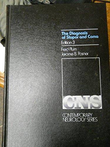 9780803669925: Diagnosis of Stupor and Coma (Contemporary neurology series)