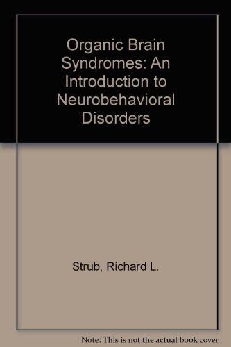9780803682092: Organic Brain Syndromes: An Introduction to Neurobehavioral Disorders