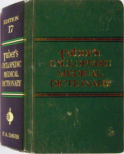 9780803683129: Taber's Cyclopedic Medical Dictionary, 17th Edition