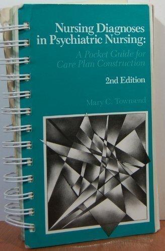 9780803685802: Nursing Diagnoses in Psychiatric Nursing: A Pocket Guide for Care Plan Construction