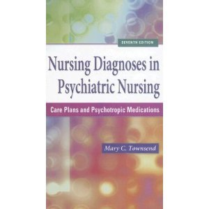 9780803685819: Nursing Diagnoses in Psychiatric Nursing: A Pocket Guide for Care Plan Construction