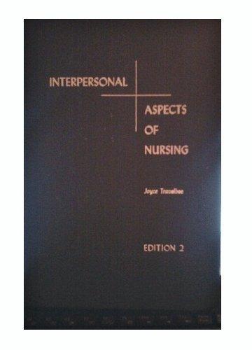 9780803686014: Interpersonal Aspects of Nursing