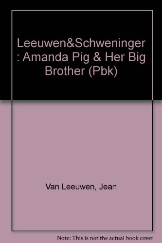 9780803700161: Amanda Pig and Her Big Brother Oliver (Easy-to-Read, Puffin)