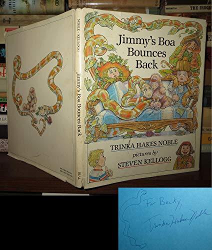 9780803700499: Noble & Kellogg : Jimmy'S Boa Bounces Back (Hbk)