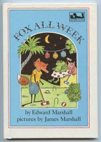 9780803700628: Marshall E. & J. : Fox All Week (Pbk) (Dial Easy-to-Read)