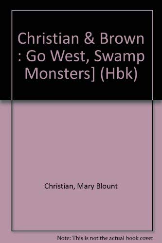 9780803700918: Go West, Swamp Monsters! (Dial easy-to-read)