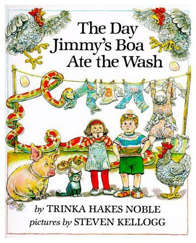 9780803700949: The Day Jimmy's Boa Ate the Wash