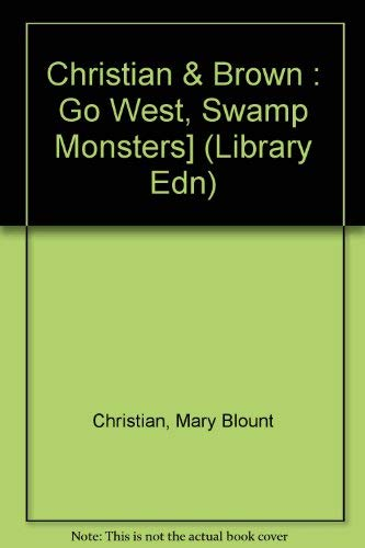 9780803701441: Go West, Swamp Monsters! (Dial easy-to-read)