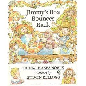 9780803702288: Jimmy's Boa Bounces Back