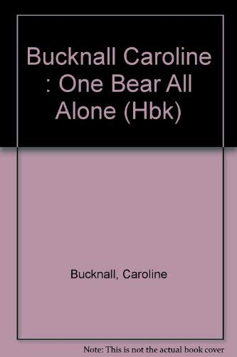 9780803702387: One Bear All Alone