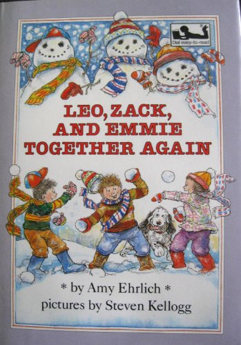 9780803703810: Leo, Zack, and Emmie Together Again (Easy-to-Read, Dial)
