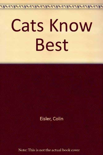 9780803705609: Cats Know Best