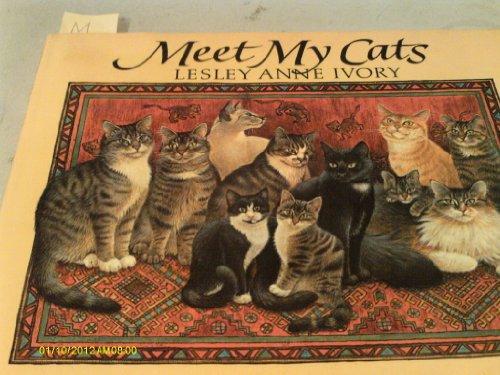 9780803706026: Ivory Lesley Anne : Meet My Cats (Hbk)