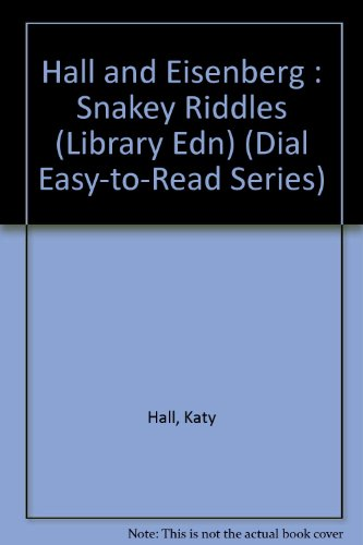 9780803706705: Snakey Riddles (Dial Easy-To-Read Series)
