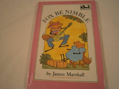 9780803707603: Marshall James : Fox be Nimble (Dial Easy-to-Read)
