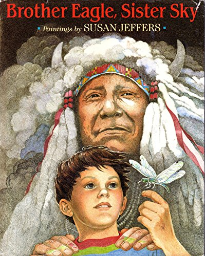 9780803709638: Jeffers Susan : Brother Eagle, Sister Sky (Library Edn)