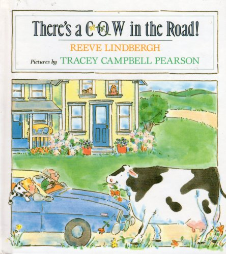 There's a Cow in the Road! (0803713355) by Lindbergh, Reeve