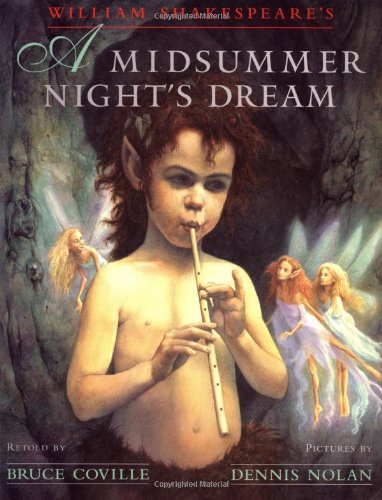 A Midsummer Night's Dream (signed): Coville, Bruce (retold by)