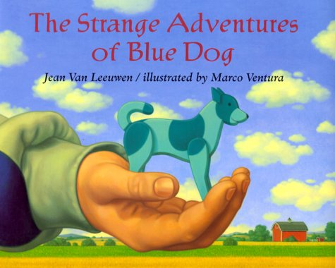 9780803718784: The Strange Adventures of Blue Dog (Picture Books)