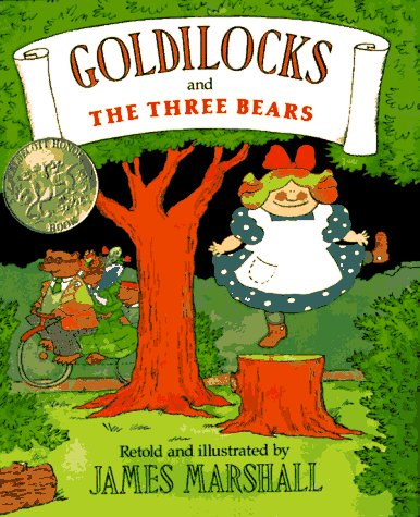 9780803720206: Goldilocks and the Three Bears: Miniature Edition