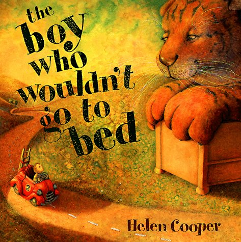 9780803722538: The Boy Who Wouldn't Go to Bed: Pictures and Story