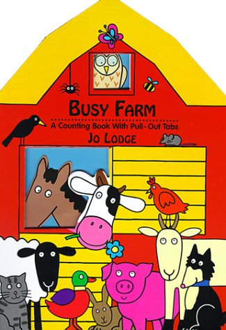 9780803724167: Busy Farm: A Counting Book with Pull-Out Tabs