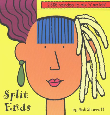 9780803725218: Split Ends: 2,666 Hairdos to Mix 'N' Match!