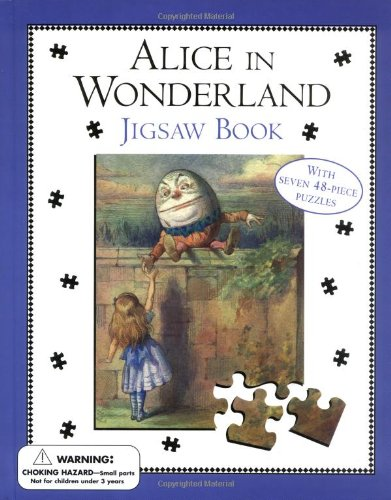 9780803726161: Alice in Wonderland Jigsaw Book: Jigsaw Book