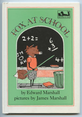 9780803726758: Marshall : Fox at School (Library Edn)