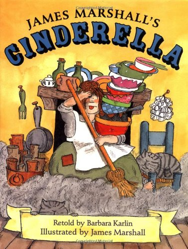 9780803727304: James Marshall's Cinderella