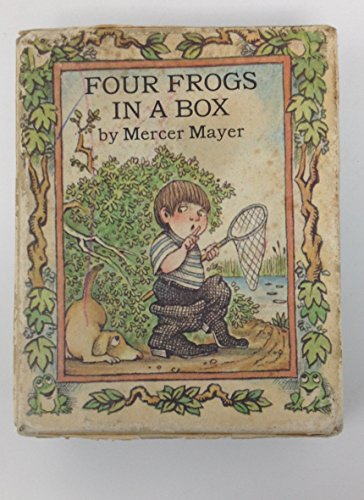 9780803727762: Four Frogs in a Box (Boy, Dog Frog)