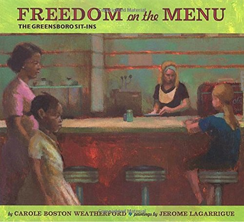 9780803728608: Freedom on the Menu: The Greensboro Sit-Ins: The Greensboro Sit-Ins