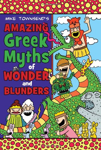 9780803733084: Amazing Greek Myths of Wonder and Blunders